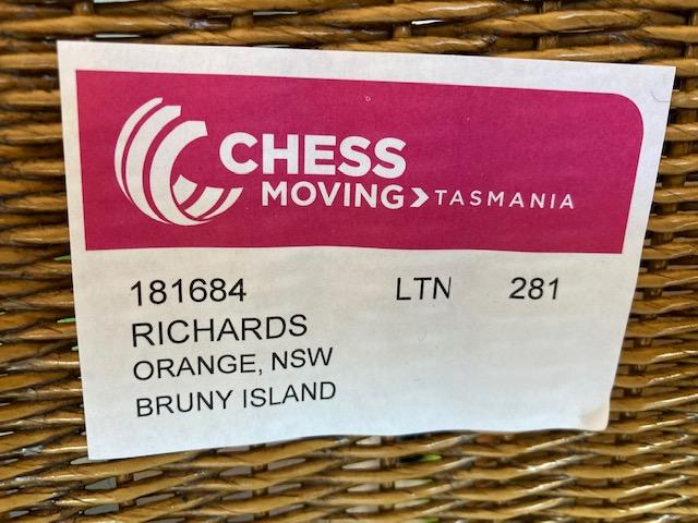 Moving label